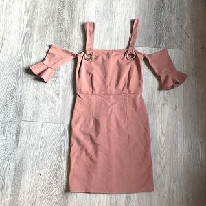 Forever 21 Dusty Coral Mini Dress size small